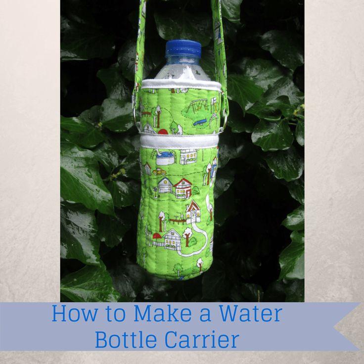 Best 25+ Water bottle carrier ideas on Pinterest   Water bottle ... : quilted water bottle holder pattern - Adamdwight.com