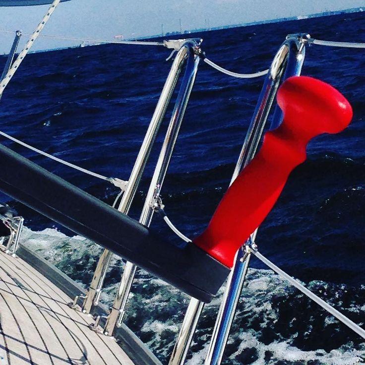天気が良く快調 気持ち良いセーリングでした #ヨット #yacht #yachting #船 #帆船 #東京湾景 #東京湾クルーズ  #東京湾クルージング #tokyo  #sailing #sailboat #sea by aki_62