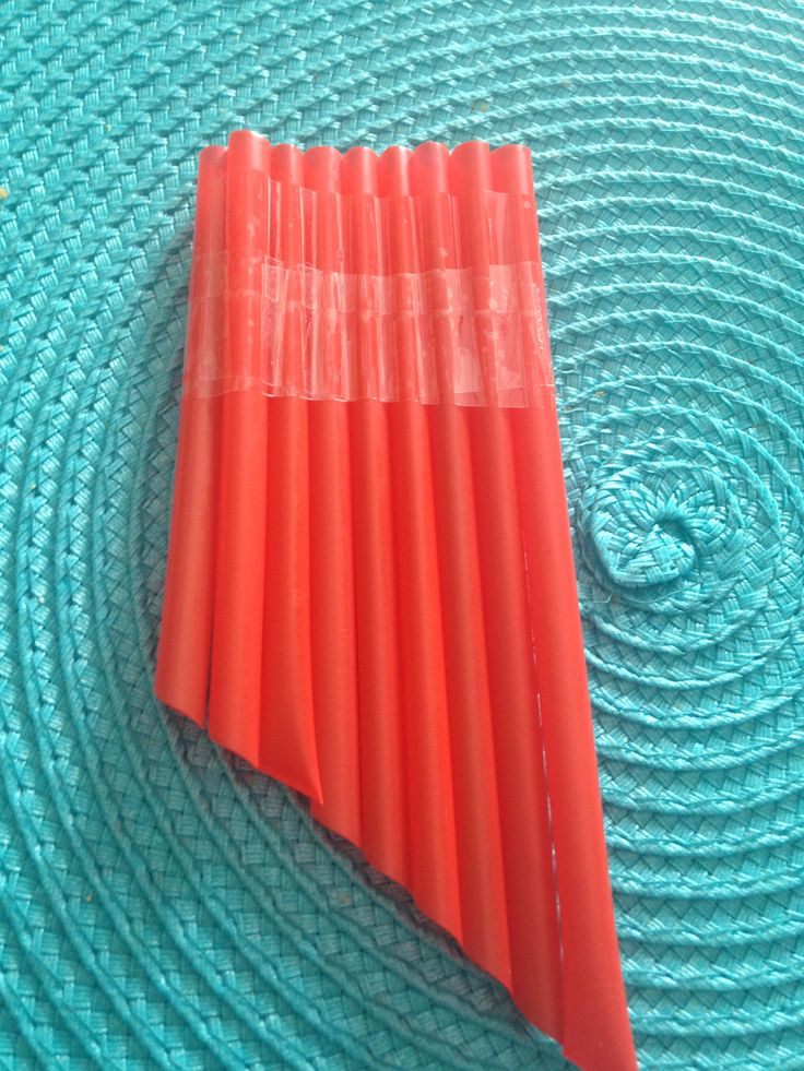 This simple straw pan flute project is a great way for kids to experience and explore sound!