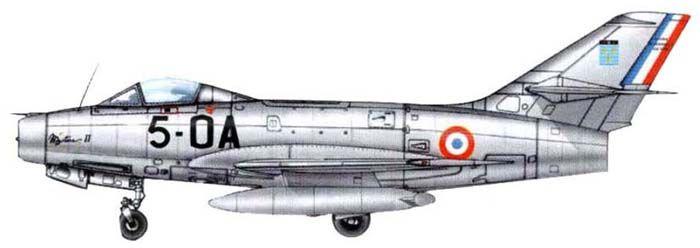 Tipo  Cazabombardero  Fabricante Dassault Aviation  Diseñado por  Marcel Dassault  Primer vuelo  1951  Introducido  1954  Retirado  196...