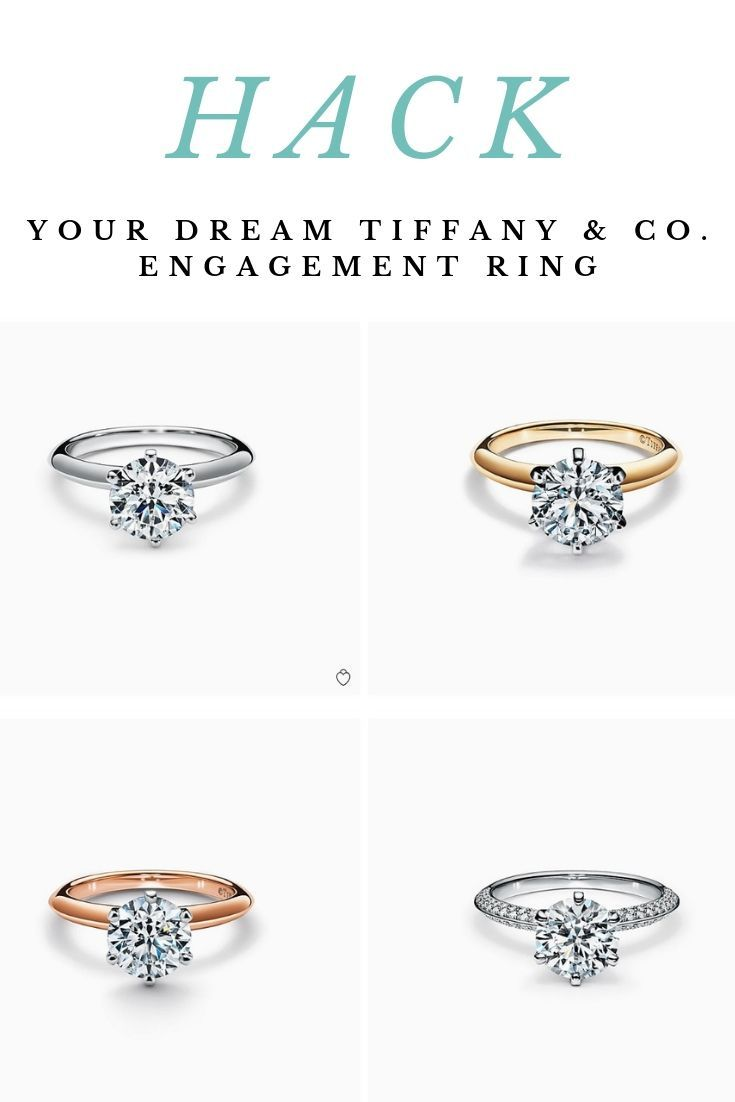 Don T Pay For The Tiffany Co Brand Name Set Your Diamond Parameters To Th Diamond Cluster Engagement Ring Rose Gold Engagement Ring Tiffany Engagement Ring