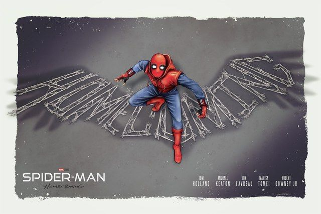 Spider-Man: Homecoming by Lucas Tetrault