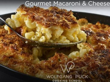 Wolfgang Puck's Gourmet Macaroni and Cheese Recipe.