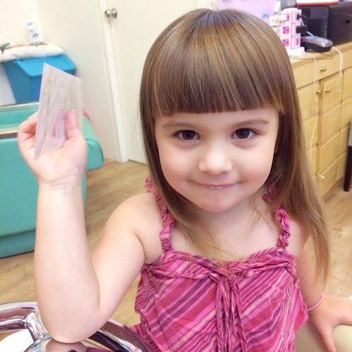 25 best little girl bangs ideas on pinterest toddler