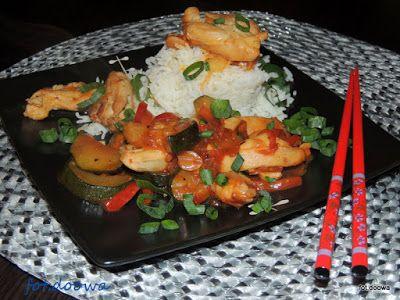 Moje Małe Czarowanie: Szybkie danie chińskie