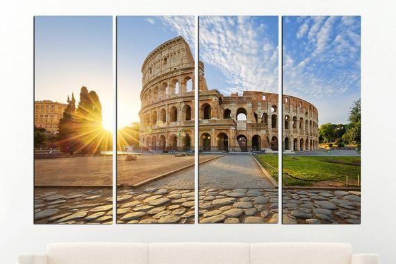 Rome Wall Art Colosseum Rome Home Decor Rome Print Rome Canvas Rome Photo Rome Poster Rome Decor Rom Rome Print Rome Photo Colosseum Rome
