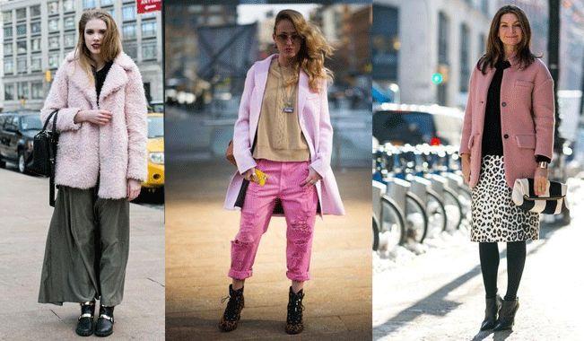 Ροζ παλτό: Το σταρ κομμάτι του NYFW   ΑΥΤΗ ΤΗ ΣΕΖΟΝ   must, η ζωή είναι ωραία