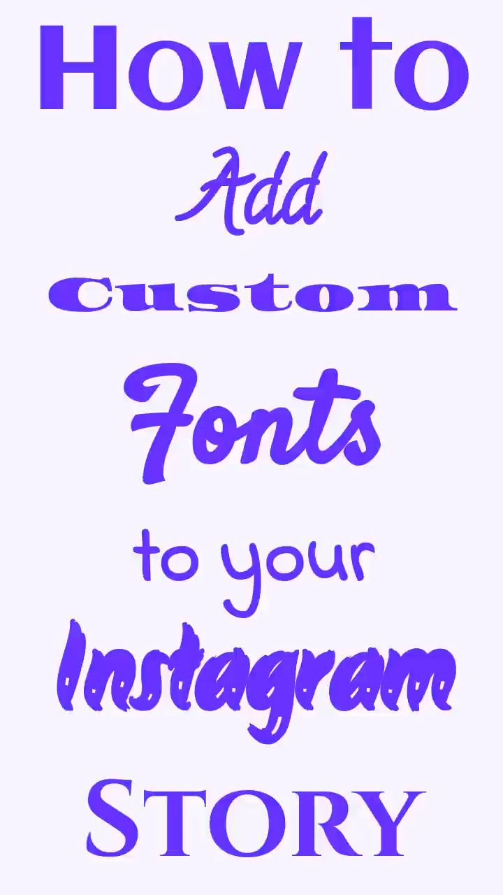 A digital media tutorial showing how to add fonts to your