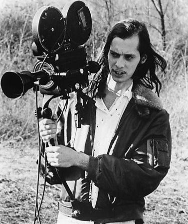 John Waters at work.