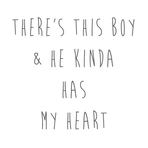 Boy Quotes So Theres