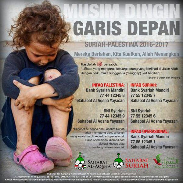 E-Poster #MusimDinginGarisDepan 2016-2017  The post E-Poster #MusimDinginGarisDepan 2016-2017 appeared first on Sahabat Al-Aqsha.  from Sahabat Al-Aqsha http://ift.tt/2dHhJst via IFTTT