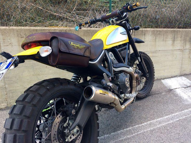 Yellow Icon Abruzzese | Ducati Scrambler Forum