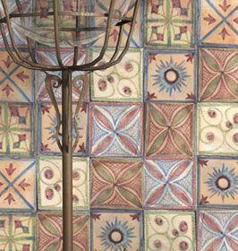 la decoracion rustica mas actual el diseo en colocacion de azulejos