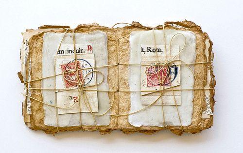 clmommsen:    Margaret Suchland - Book Bundle n.4 by Abecedarian Gallery on Flickr.