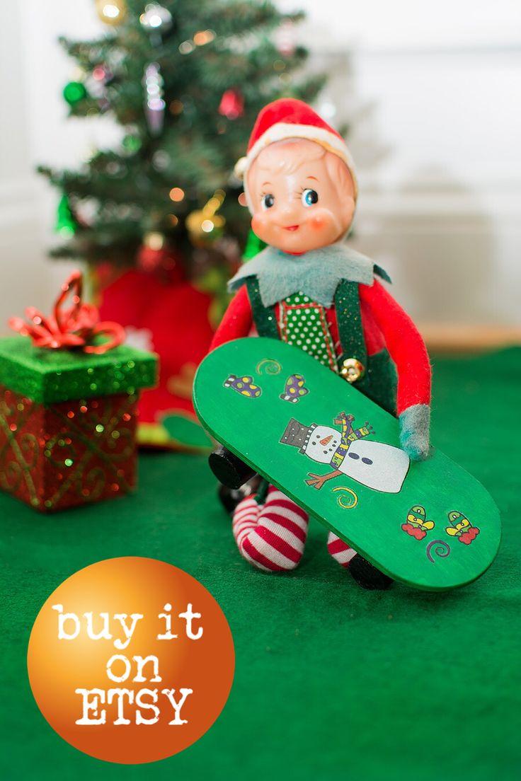 Elf Props For Sale: Elf Skateboard