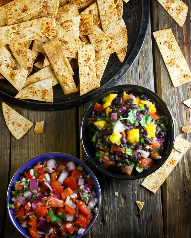 baked cumin chipotle lime tortilla chips recipes dishmaps baked cumin ...