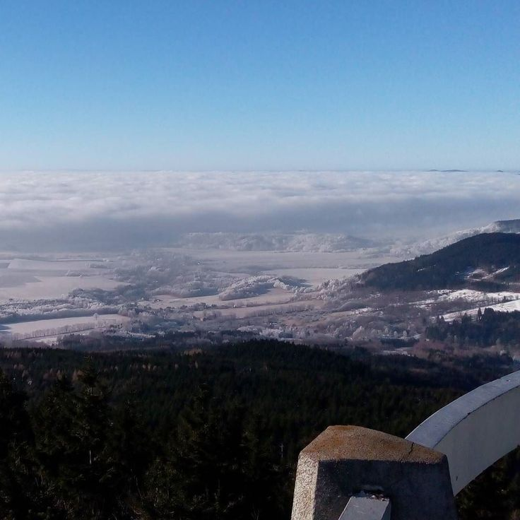 #sky #winter #clouds #czech_world #czech_insta #insta_czech #instadialy #igraczech #igerscz #igers #libereckykraj #jested