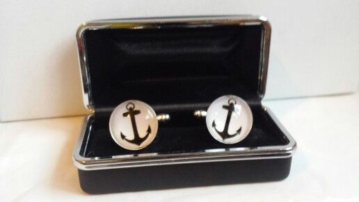 Cufflinks from www.facebook.com/beetreecrafts