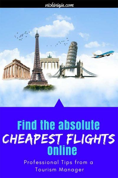Are you tired of paying more for your flight than you should? Then this post is for you! In this post you will learn about how to find the cheapest flights online I A-step-by-step-Guide I Professional Tips from a Tourism Manager I Which Online Search Engine should I use I Find always the cheapest flight and save a lot of money I Flight Ticket I #Budget #Airplane #Cheapflights