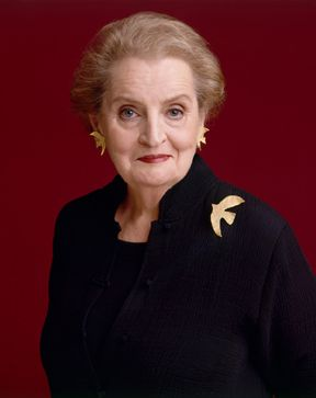 """There is a special place in hell for women who don't help other women.""  Madeleine Albright, Former U.S. Secretary of State"