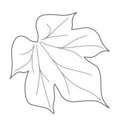 Moldes de hojas de otoño 7