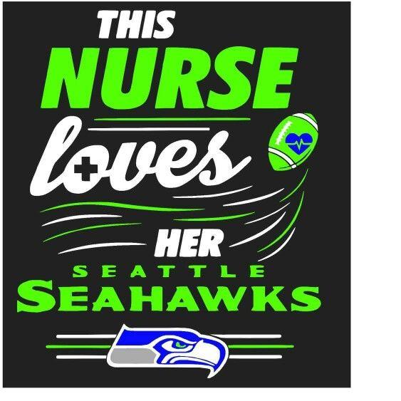 Nurse loves Seahawks