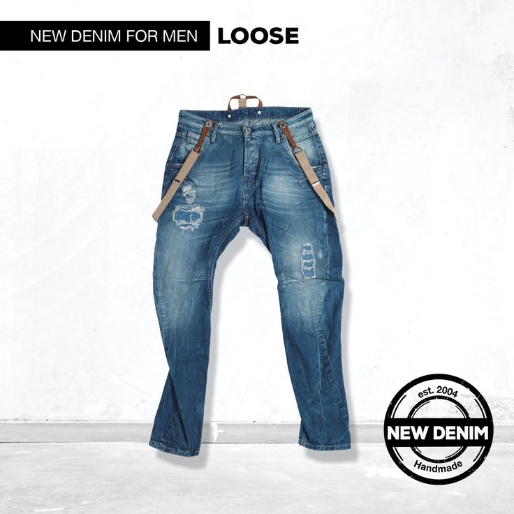 Loose denim.