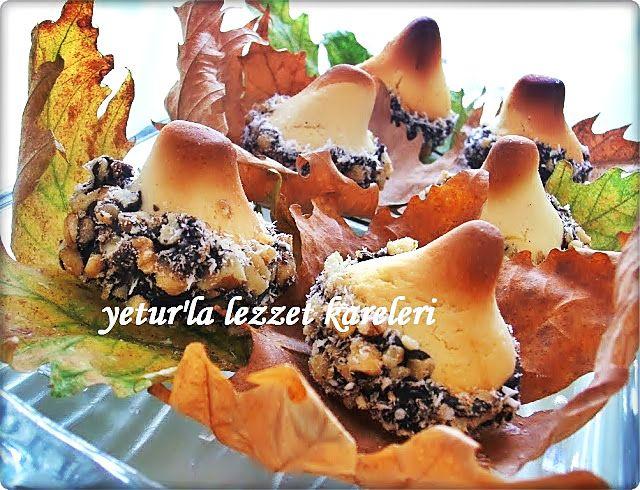 yetur'la lezzet kareleri.com: meşe palamudu kurabiye (rus mutfağından )