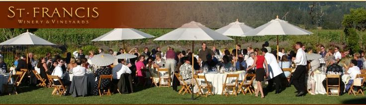 September 14, 2013 - Zinfandel Sale & Harvest BBQ at St. Francis Winery in Sonoma. Enjoy plates of barbecue, barrel samples, and live music. @St. Francis Winery #sonomaharvest2013 #sonomacounty #sonomaevents