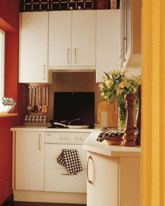 Decoración para cocinas pequeñas ~ Solountip.com