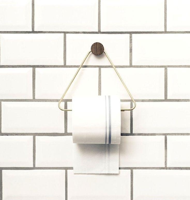 accesorio para colgar el papel higiénico