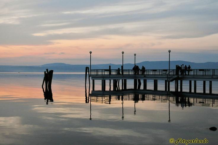 Lago di Bracciano, Anguillara Sabazia