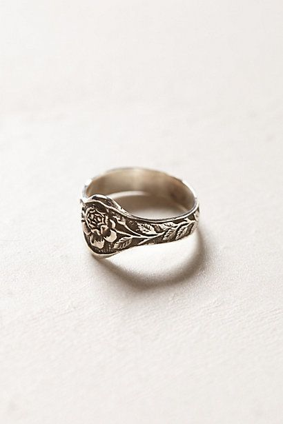 Engraved Rose Ring - #anthrofave