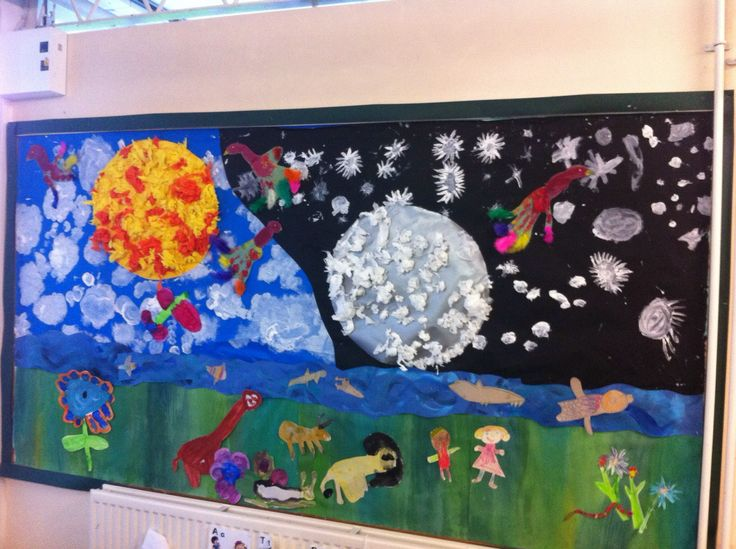 Classroom Display Ideas Ks1 ~ The creation story classroom display year one ks my