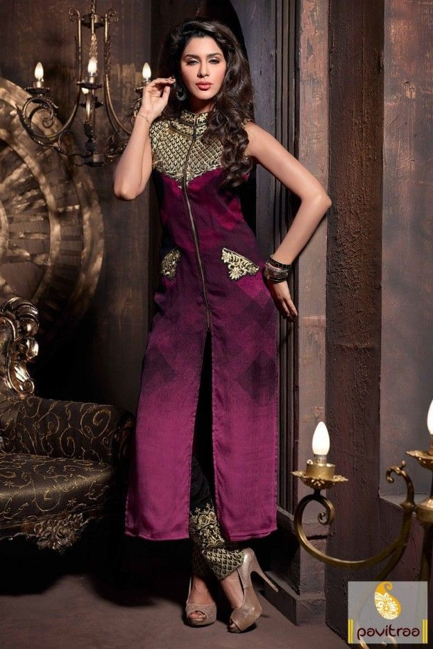 Extra gorgeous santoon party wear violet indigo salwar suit will give you an marvelous look with long cuts, golden embroidery designs and printed works. #pavitraa, #salwarsuits, #anarkalisalwarsuits, #designerdresses, #partyweardresses, #salwarkameez, #lehengasuits, #bollywooddresses, #onlinesuit, #promdress