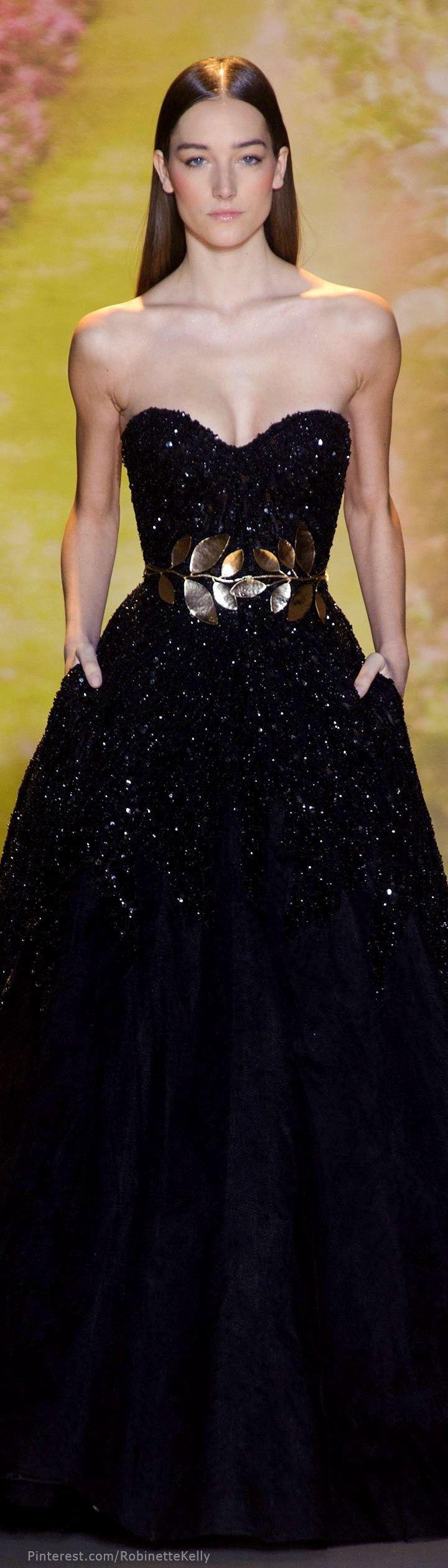 "Zuhair Murad Haute Couture | S/S 2014  (^.^) Thanks, Pinterest Pinners, for stopping by, viewing, re-pinning,  following my boards.  Have a beautiful day! ^..^ and ""Feel free to share on Pinterest ^..^  #women #topfashion #fashionandclothingblog"