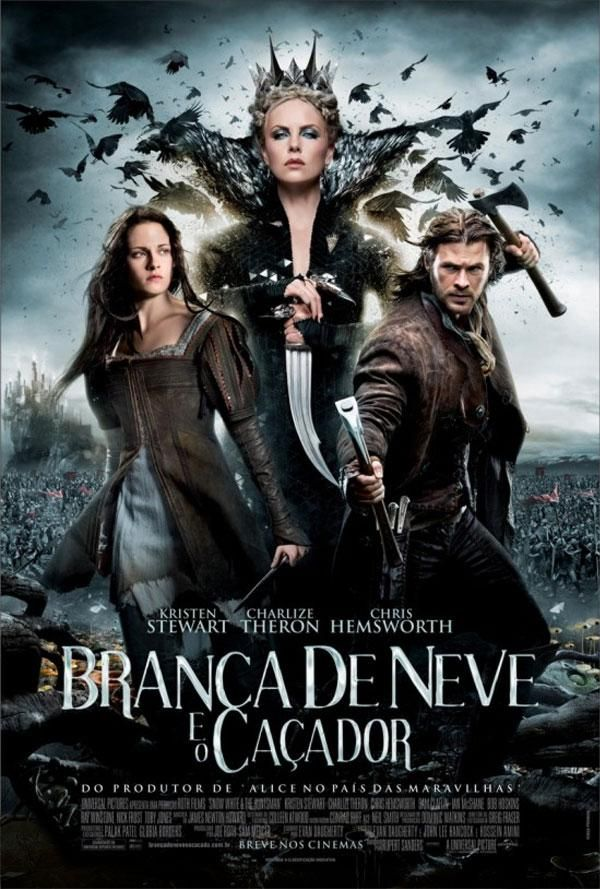"""Branca de Neve e o Caçador"" (Snow White and the Huntsman - 2012)"