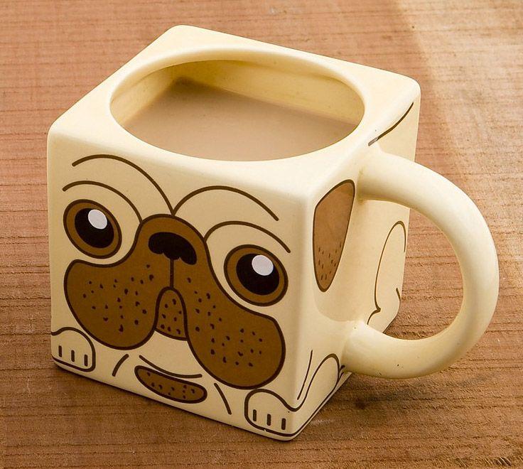 Taza perro Pug.