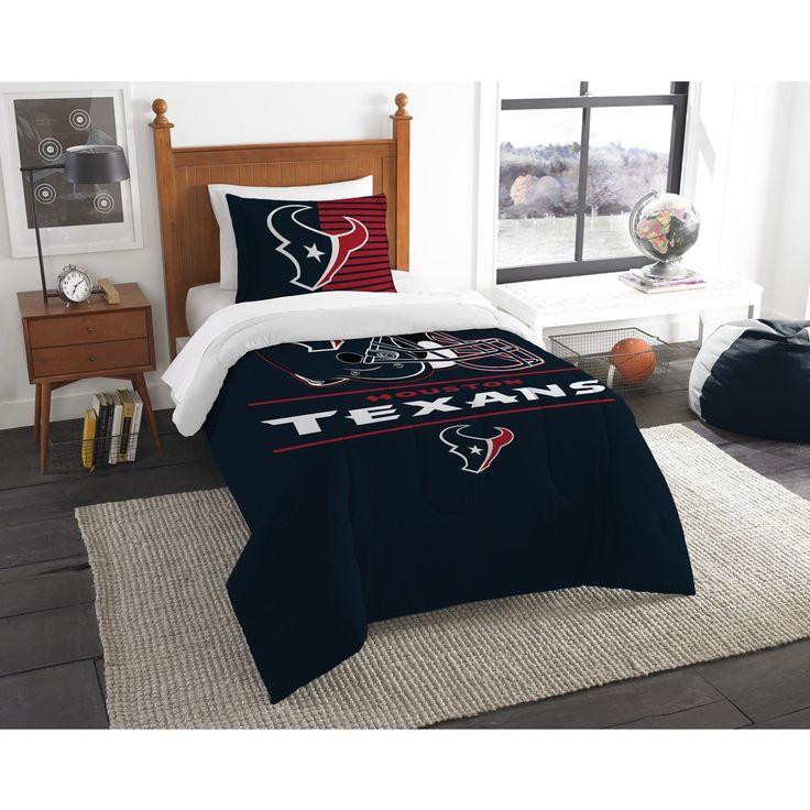 NFL 862 Texans Draft 2-piece Comforter Set