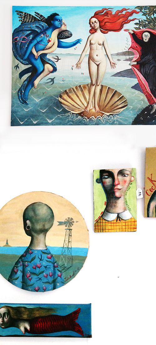 Arte a la venta • Xef Pirata GastroBar • Casco antiguo de Altea #comerenaltea #altea #restaurante #mediterraneo #comer_en_altea