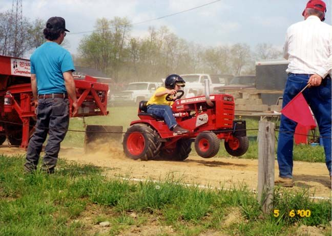Antique Tractor Pulling Parts | Garden tractor pulls are a regular part of our Spring Gas Ups and Fall ...