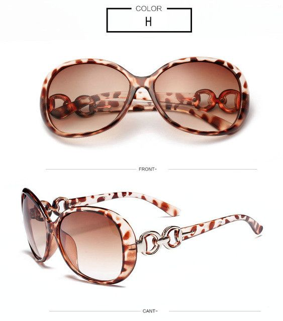 Luxury Sunglasses Brand Designer Female Eyewear (Free Shipping)