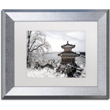 Trademark Fine Art Silent Day Canvas Art by Philippe Hugonnard, White Matte, Silver Frame, Size: 11 x 14, Assorted