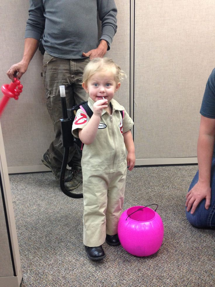 Toddler Ghostbuster Costume Halloween Costumes