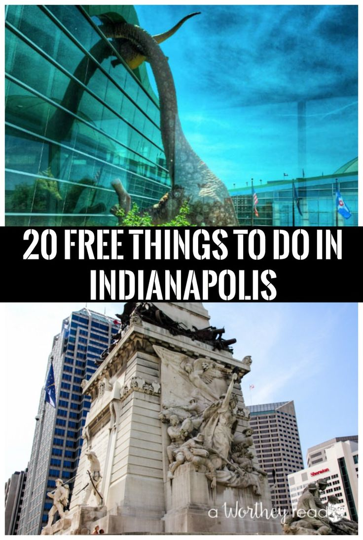 Taking a vacation to Indy this summer? There is a ton of things to do for families in Indianapolis. Check out our list of 20 Free Things to Do in Indianapolis Traveling in the midwest can be the best vacation!