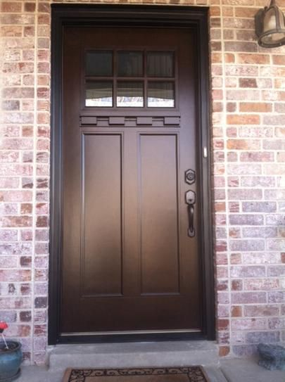 Feather River Doors 37 5 In X 81 625 In 6 Lite Craftsman