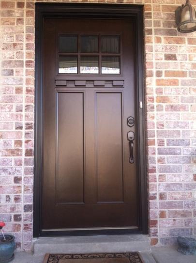 Feather River Doors 37 5 In X 81 625 In 6 Lite Craftsman
