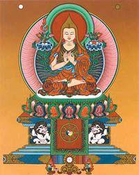 Lama Tsongkhapa door Andy Weber