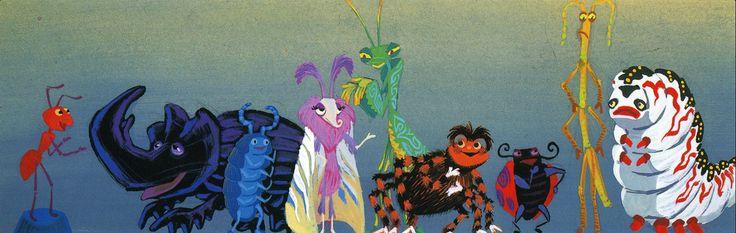 A Bug's Life Concept Art
