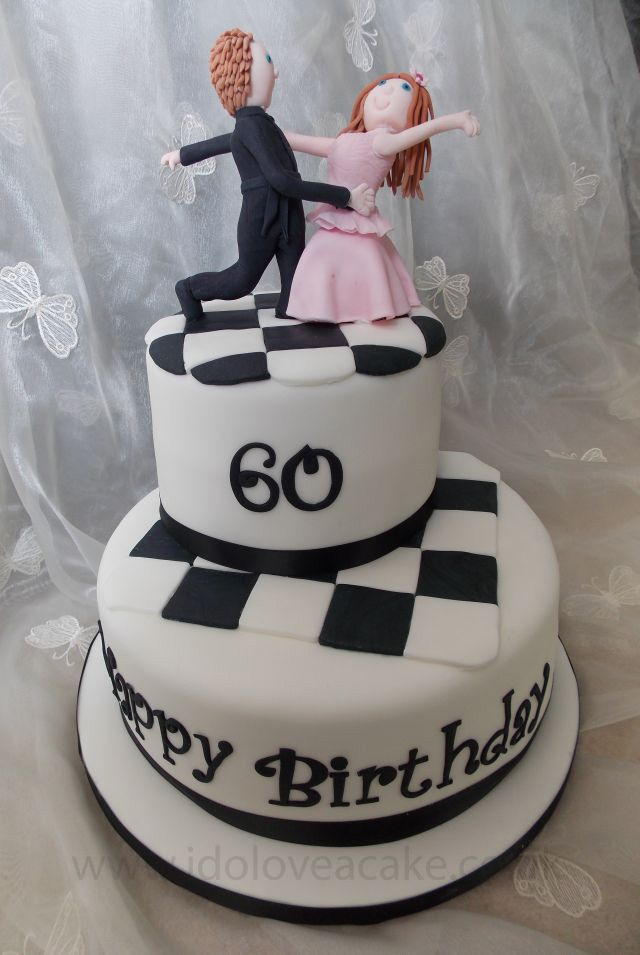 Ballroom Dancing Birthday Cake Great Topper Ballroom